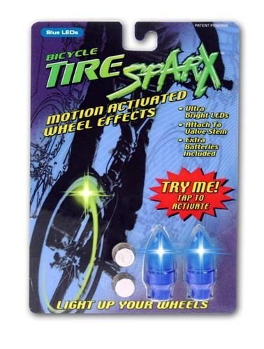 Tire Sparx - Blue LED