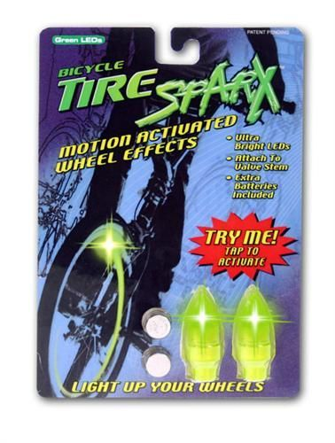 Tire Sparx - UV Green LED