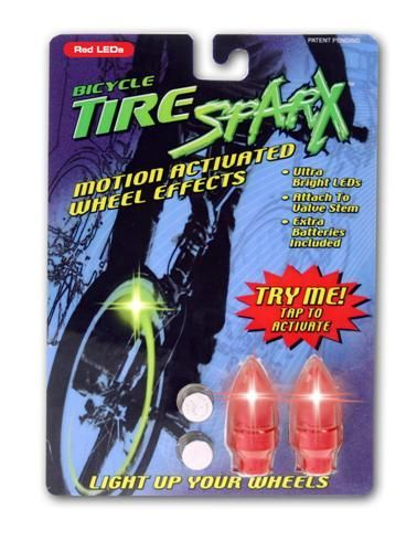 Tire Sparx - Red LED