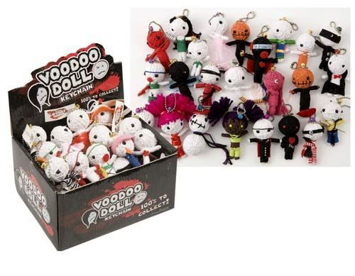 Voodoo doll Keychain - 6 pack