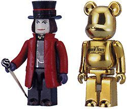 Willy Wonka Kubrick & Bearbrick set