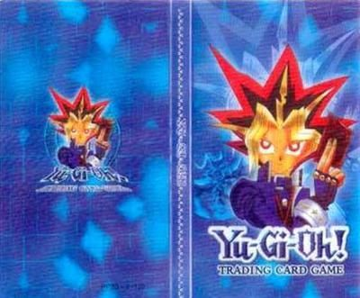 Yugioh folder - Blue
