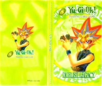 Yugioh folder - Dark Green